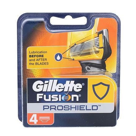 Gillette Fusion Proshield 4 ks náhradních hlavic pro muže