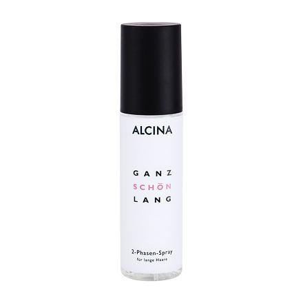 ALCINA Ganz Schön Lang dvoufázový sprej na poškozené nebo suché dlouhé vlasy pro ženy