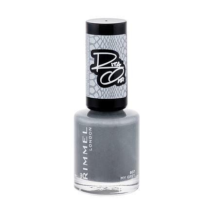 Rimmel London 60 Seconds By Rita Ora lak na nehty odstín 807 My Grey pro ženy