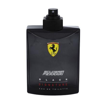Ferrari Scuderia Ferrari Black Signature toaletní voda Tester pro muže