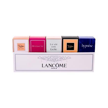 Lancôme Mini Set 2 sada edp Hypnose 5 ml + edp La Vie Est Belle 4 ml + edp Trésor 7,5 ml + edp Trésor In Love 5 ml + edp Miracle 5 ml pro ženy