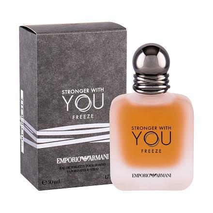 Giorgio Armani Emporio Armani Stronger With You Freeze toaletní voda pro muže