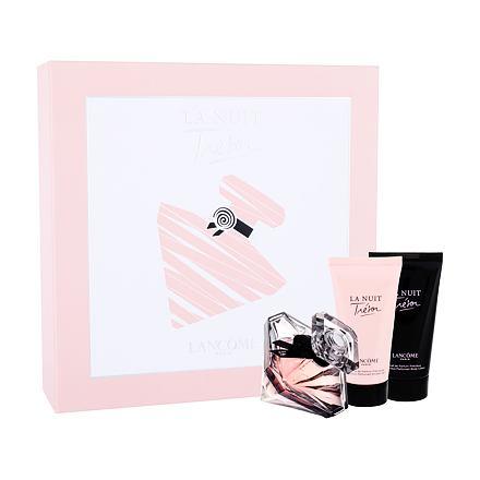 Lancôme La Nuit Trésor sada parfémovaná voda 50 ml + tělové mléko 50 ml+ sprchový gel 50 ml pro ženy