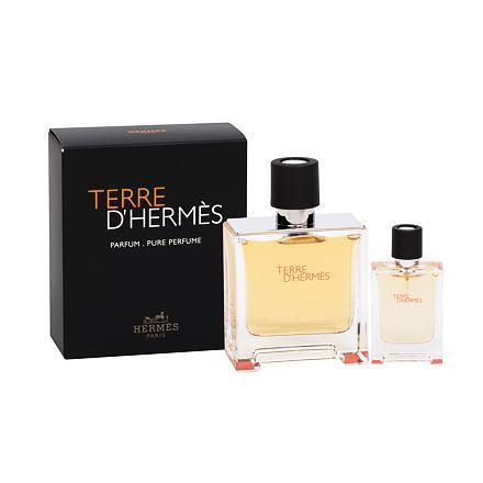 Hermes Terre d´Hermès sada parfém 75 ml + parfém 12,5 ml pro muže