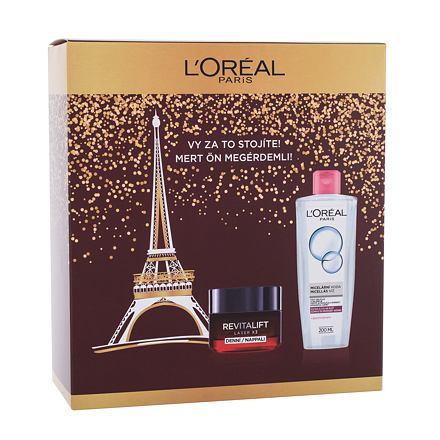 L´Oréal Paris Revitalift Laser X3 sada denní pleťový krém Revitalift Laser X3 50 ml + micelární voda 200 ml pro ženy