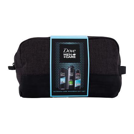 Dove Men + Care Clean Comfort sada sprchový gel Clean Comfort 250 ml + šampon 2in1 Fresh & Clean 400 ml + antiperspirant Clean Comfort 150 ml + kosmetická taška pro muže