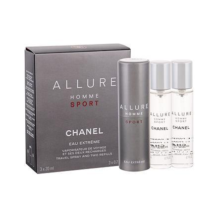 Chanel Allure Homme Sport Eau Extreme toaletní voda twist and spray pro muže