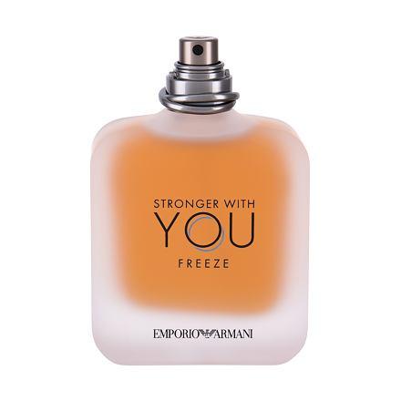 Giorgio Armani Emporio Armani Stronger With You Freeze toaletní voda Tester pro muže