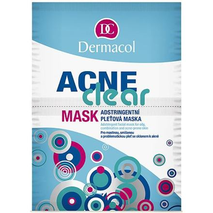 Dermacol AcneClear pleťová maska na problematickou pleť