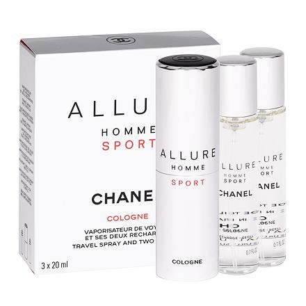 Chanel Allure Homme Sport Cologne kolínská voda twist and spray pro muže