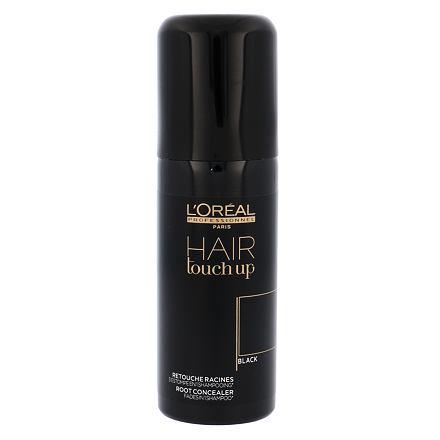 L´Oréal Professionnel Hair Touch Up vlasový sprej pro krytí odrostů 75 ml odstín Black pro ženy