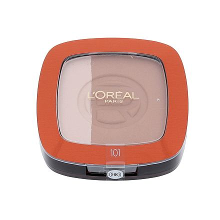 L´Oréal Paris Glam Bronze pudr 9 g odstín 101 pro ženy