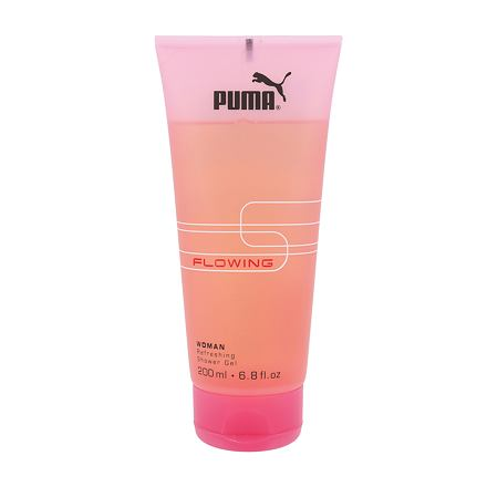 Puma Flowing Woman sprchový gel 200 ml pro ženy