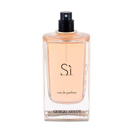 Giorgio Armani Sì parfémovaná voda 100 ml Tester pro ženy