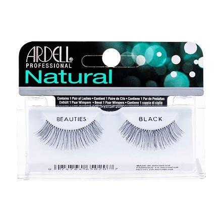 Ardell Natural Beauties nalepovací řasy 1 ks odstín Black pro ženy