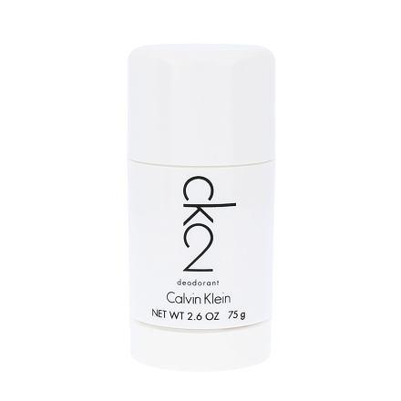 Calvin Klein CK2 deostick bez obsahu hliníku 75 ml unisex