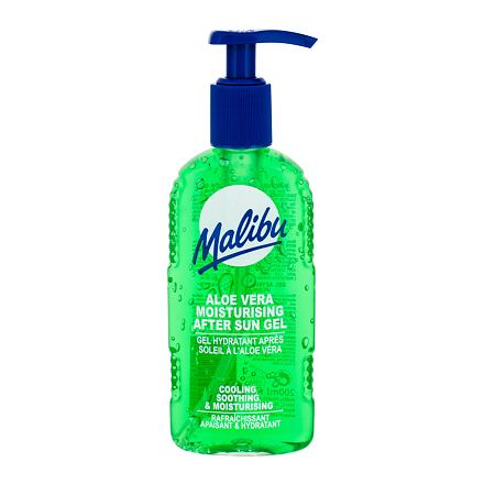 Malibu After Sun Aloe Vera zklidňující gel po opalování 200 ml unisex