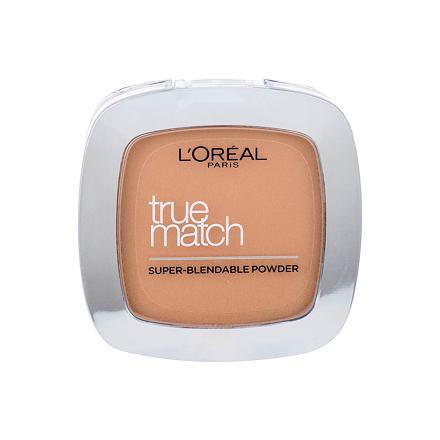 L´Oréal Paris True Match jemný pudr pro přirozený vzhled odstín D3-W3 Golden Beige pro ženy