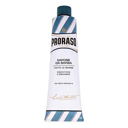 PRORASO Blue Shaving Soap In A Tube mýdlo na holení v tubě s aloe vera pro muže
