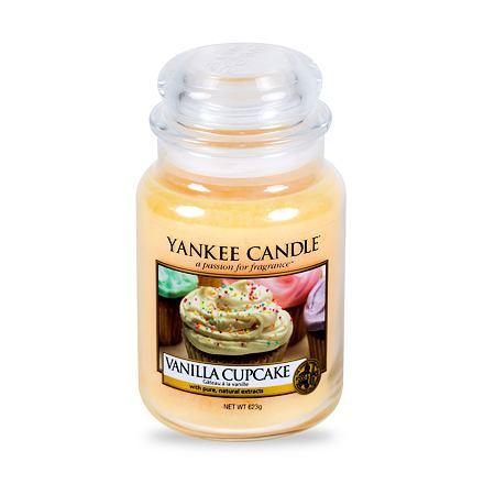 Yankee Candle Vanilla Cupcake vonná svíčka