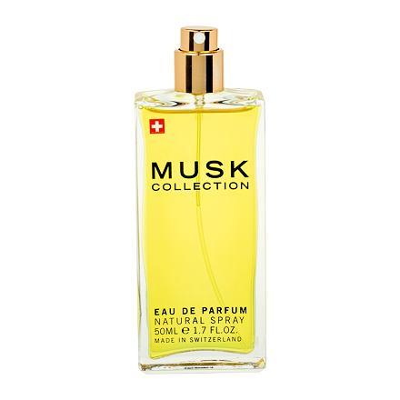 MUSK Collection Musk Collection Black parfémovaná voda 50 ml Tester pro ženy
