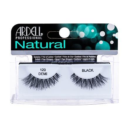 Ardell Natural Demi 120 nalepovací řasy 1 ks odstín Black pro ženy