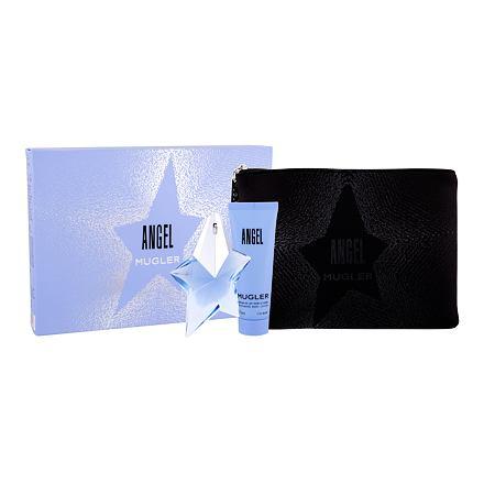 Thierry Mugler Angel sada parfémovaná voda 25 ml + tělové mléko 50 ml + kosmetická taška pro ženy