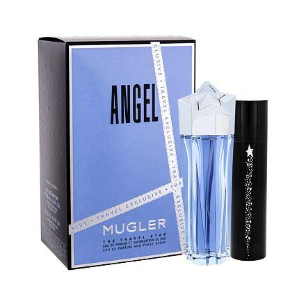 Thierry Mugler Angel sada parfémovaná voda 100 ml + parfémovaná voda 7,5 ml pro ženy