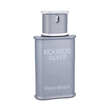 Yves Saint Laurent Kouros Silver toaletní voda 50 ml pro muže