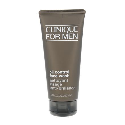 Clinique For Men Oil Control Face Wash čisticí gel na normální pleť pro muže