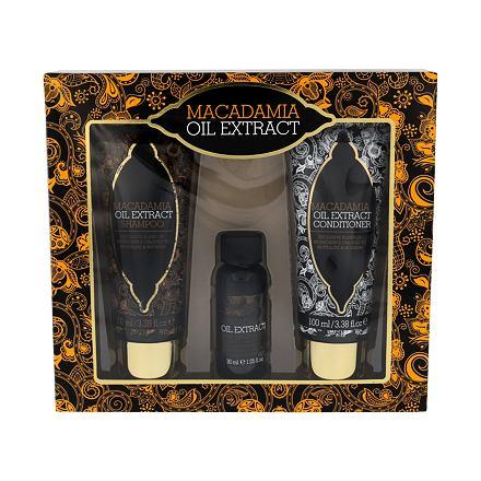Xpel Macadamia Oil Extract sada šampon 100 ml + kondicionér 100 ml + sérum na vlasy 30 ml pro ženy