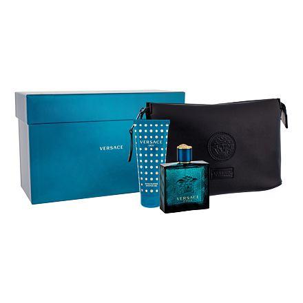 Versace Eros sada toaletní voda 100 ml + sprchový ge 100 mll + toaletní  taška pro 135d76fc0e