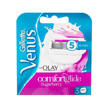 Gillette Venus náhradní břit 3 ks pro ženy