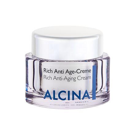 ALCINA Rich Anti-Aging Cream krém proti stárnutí pleti pro suchou pleť pro ženy