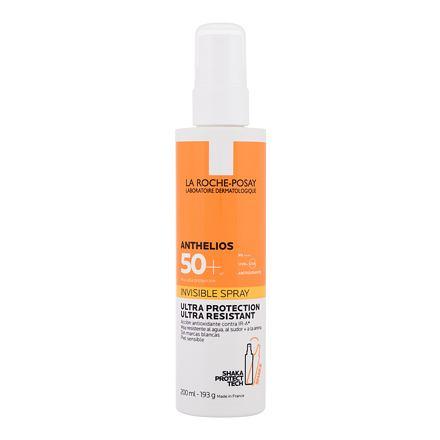 La Roche-Posay Anthelios Invisible Spray SPF50 200 ml opalovací sprej na tělo i obličej