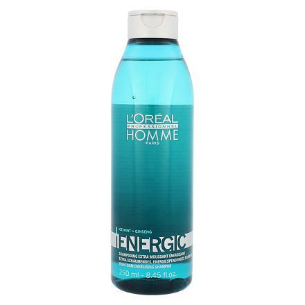 L´Oréal Professionnel Homme Energic osvěžující šampon 250 ml pro muže