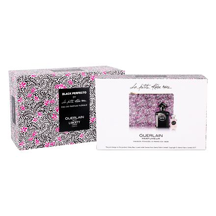 Guerlain La Petite Robe Noire Black Perfecto sada parfémovaná voda 50 ml + parfémovaná voda 5 ml + kosmetická taška pro ženy