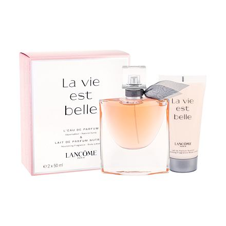 Lancôme La Vie Est Belle sada parfémovaná voda 50 ml + tělové mléko 50 ml pro ženy