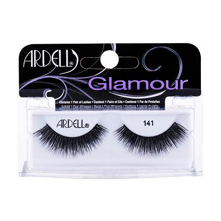 Ardell Glamour 141 nalepovací řasy 1 ks odstín Black pro ženy