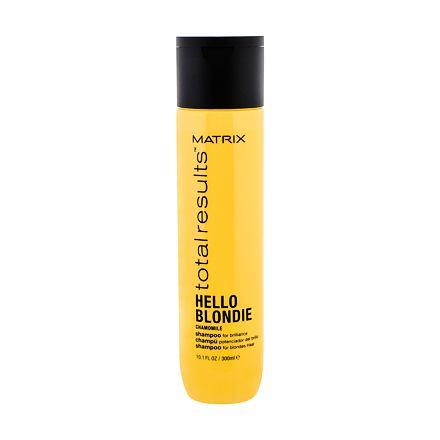 Matrix Total Results Hello Blondie Chamomile šampon pro blond vlasy pro ženy