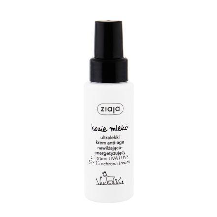 Ziaja Goat´s Milk vyhlazující pleťový krém SPF 15 50 ml pro ženy