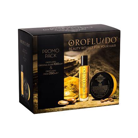 Orofluido Beauty Elixir sada tekuté zlato Elixir 100 ml + maska na vlasy 250 ml pro ženy