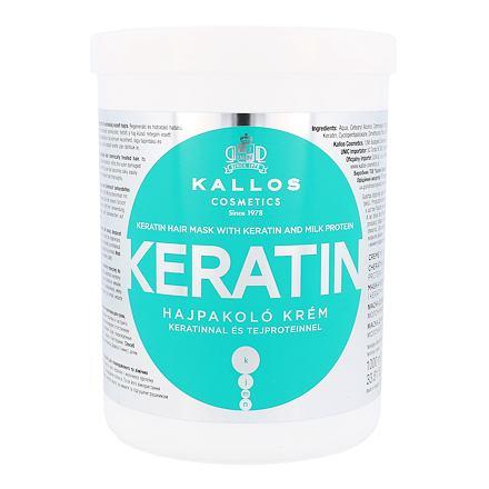 Kallos Cosmetics Keratin regenerační maska na vlasy s keratinem 1000 ml pro ženy