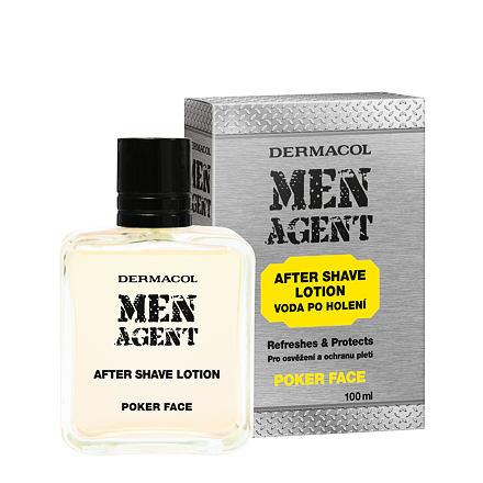 Dermacol Men Agent Poker Face voda po holení 100 ml pro muže