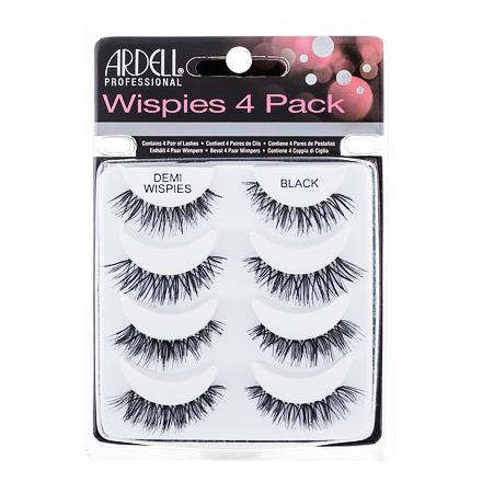 Ardell Wispies Demi Wispies nalepovací řasy 4 ks odstín Black pro ženy