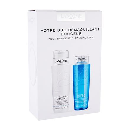 Lancôme Galatéis Douceur sada čisticí mléko Galateis Douceur 400 ml + čisticí voda Tonique Douceur 400 ml pro ženy