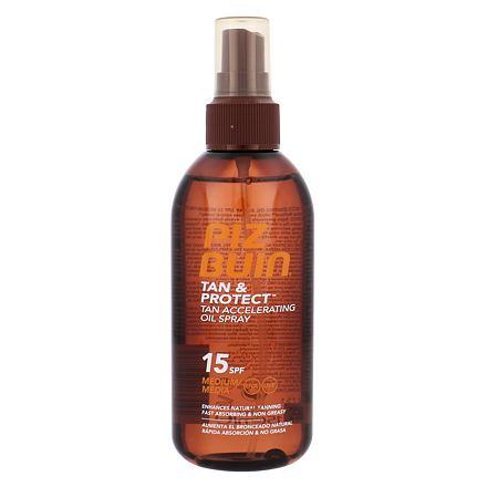 PIZ BUIN Tan & Protect Tan Accelerating Oil Spray opalovací přípravek na tělo SPF15 150 ml pro ženy
