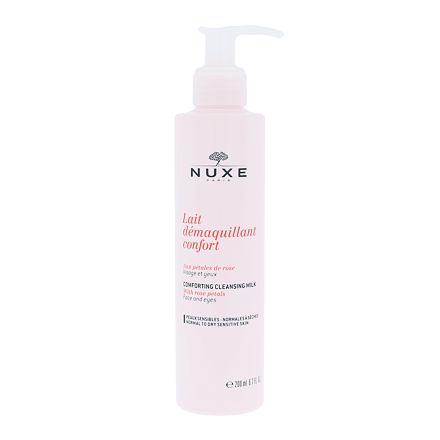 NUXE Rose Petals Cleanser čisticí mléko pro suchou až normální pleť pro ženy