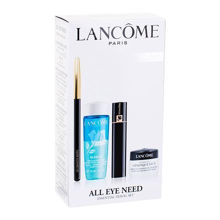 Lancôme Le Crayon Khôl odstín Black sada tužka na oči Le Crayon Khol 1,14 g + řasenka Hypnose 2 ml 01 Black + odličovač očí Bi-Facil 30 ml + péče o oční okolí Advanced Génifique Yeux 5 ml pro ženy