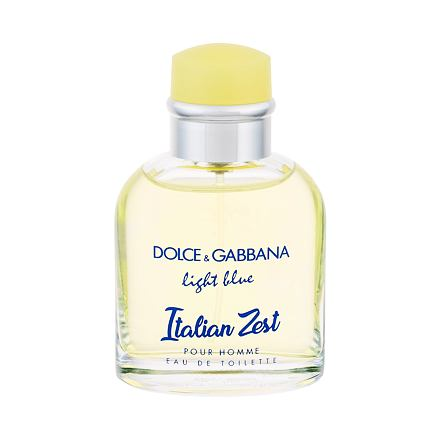 Dolce&Gabbana Light Blue Italian Zest Pour Homme toaletní voda 75 ml pro muže